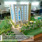 Maket Gedung Kampus STIE AD AHmad Dahlan Cirendeur