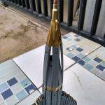 Miniatur_Roket_dari_peluru